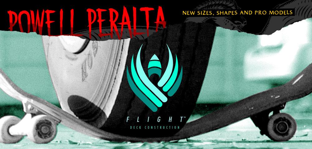 Powell Peralta Flight Skateboard Decks