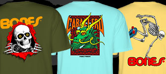 Powell-Peralta T-shirts